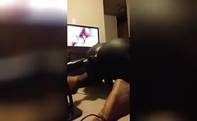 this man got an ass Machine